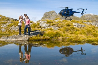Book for Fiordland Helicopters through Loch Vista Bed & Breakfast